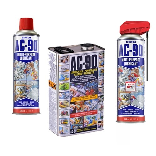 AC-90 Multi Purpose Lubricant Sprays and Cans