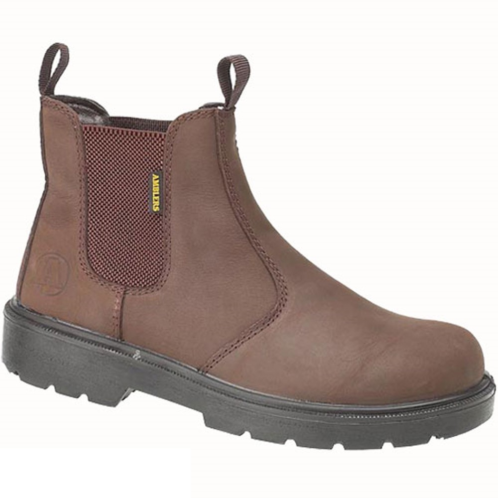 Amblers FS128 Brown Dealer Safety Boot