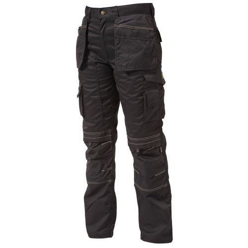 Apache Holster Pocket Work Trousers Black APKHT