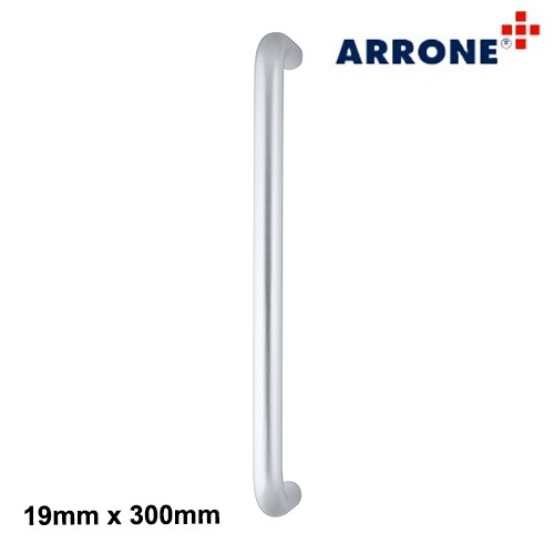 Bolt Fix Pull Handle Aluminium 300mm - Arrone AR203/300
