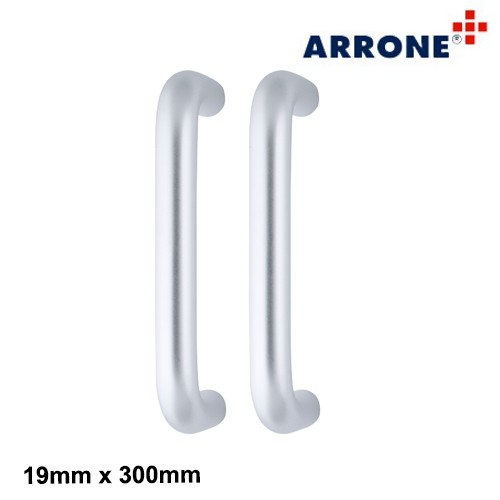 Back to Back Fix Pull Handle 300mm SAA - Arrone AR204/300