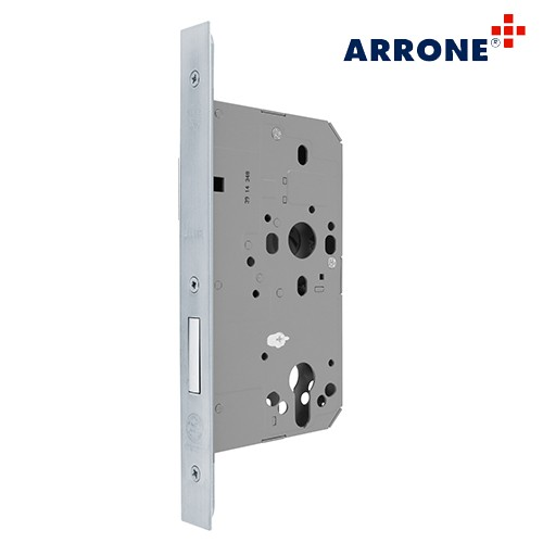 Euro Profile Mortice Deadlock 72mm Square AR8102-S-60-SSS