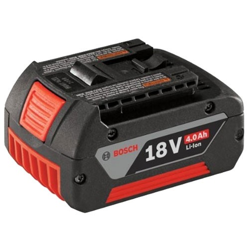 Bosch 18v 4.0 Ah li-ion cool pack battery