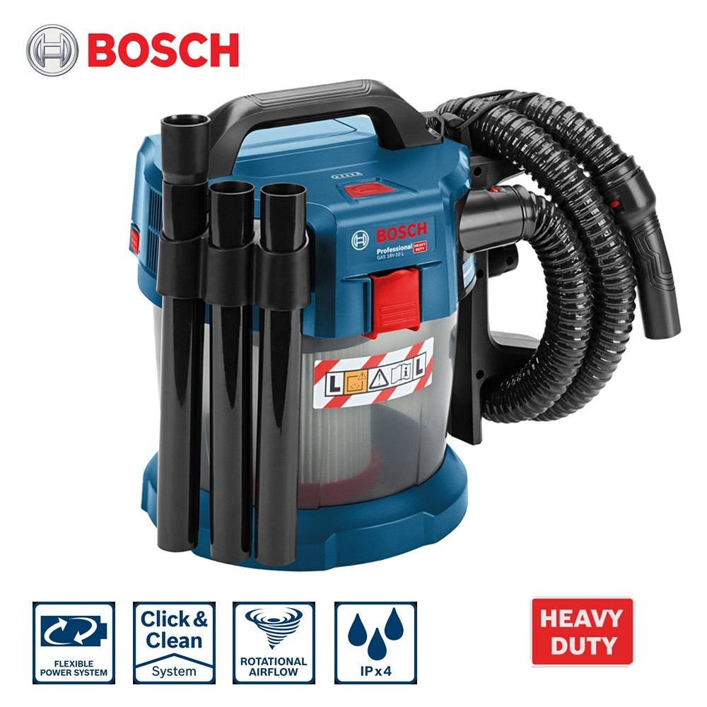 Bosch GAS 18V-10L Professional Cordless Wet & Dry Vacuum (Body Only)