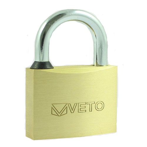 Brass Padlock 50mm (Long Shackle)