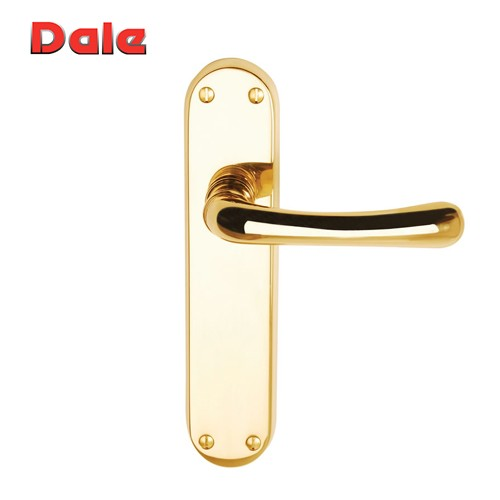 Clara Door Handle Lever On Backplate - Dale Hardware