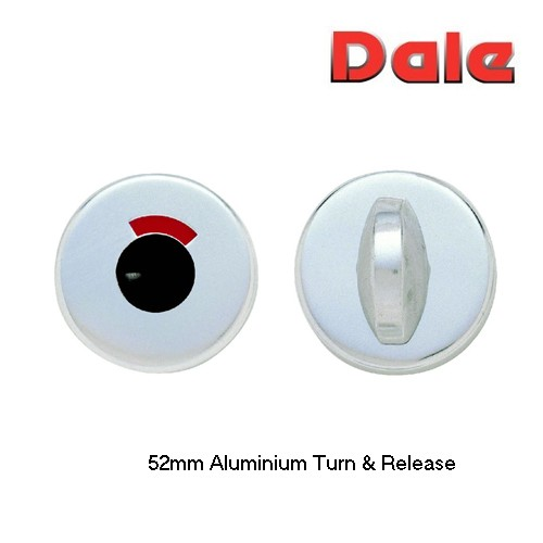 Dale Hardware Aluminium 52mm Turn & Release PAA DH878