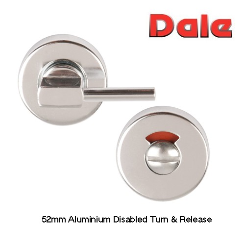 Aluminium 52mm Disabled Turn & Release PAA DH879