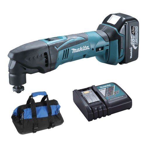 Makita DTM50RF 18v Oscillating Multi Tool (1 x 4.0ah Battery & Charger)