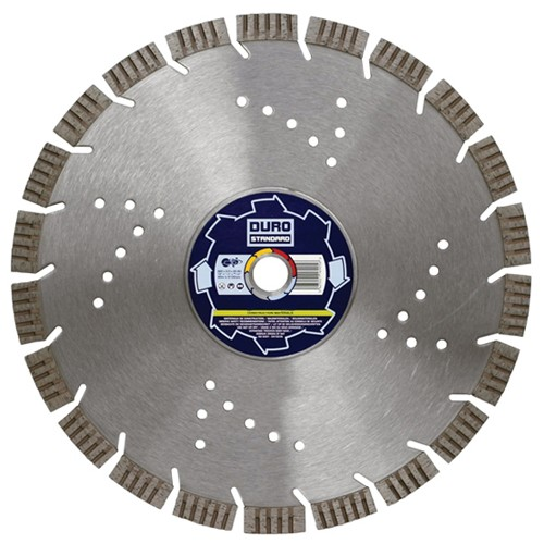 "Duro 230DCM 9"" 22mm bore Standard Construction Diamond Blade"