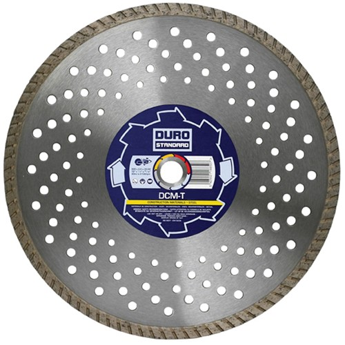 "Duro 115mm DCMT 4 1/2"" X 22 mm Multi Construction Diamond Blade"