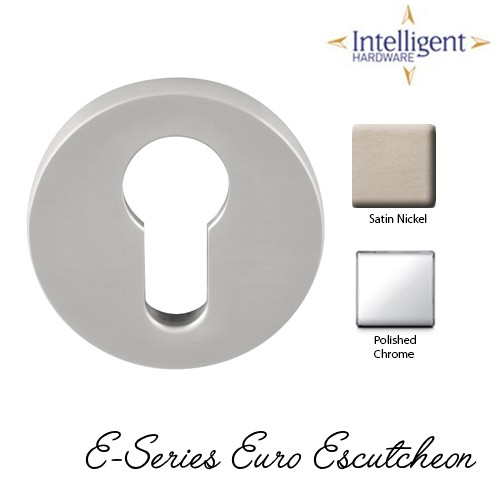 E-Series Round Euro Profile Escutcheon
