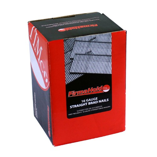Firmahold 16 Gauge Brad Nails 25mm - 64mm