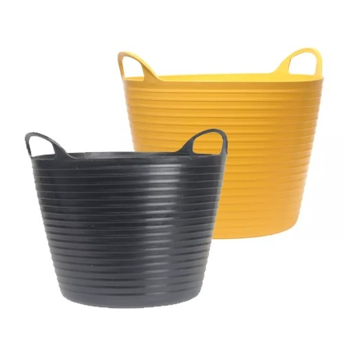 Faithfull Heavy Duty Polyethylene Flex Tubs