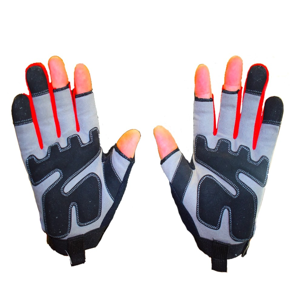 WorkGearUk Framer With 3 cut Fingers with EVA Padded Palm WG-Framer Size Large