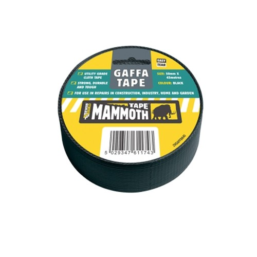 Everbuild Gaffa Tape Silver - 50mm