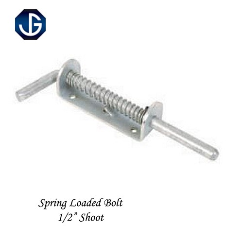 "Spring Loaded Bolt Prepack BZP 1/2"" Shoot H5FBSG"