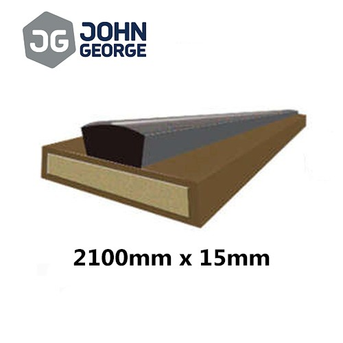 Intumescent Strip Fire & Smoke Brown 2100 x 15mm