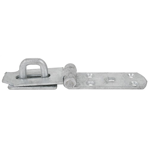 "Heavy Hasp & Staple Galv 10"" (HD149G080)"