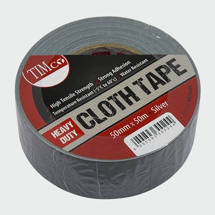 Heavy Duty Cloth Tape 50mm x 50m
