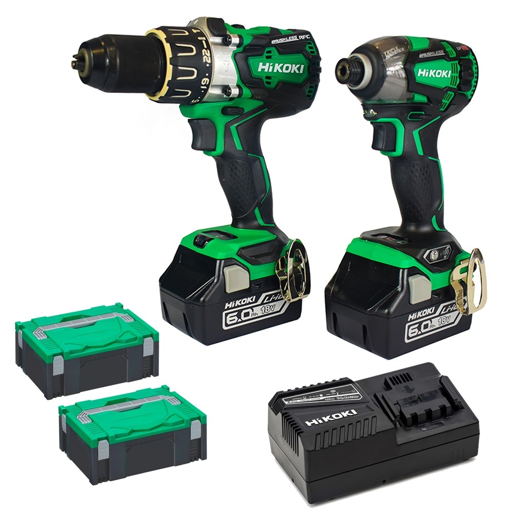 Hikoki 18V brushless Impact Driver kit With UB18DAL