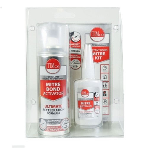 Instant Bond Mitre Kit - 200ml / 50g (247321)