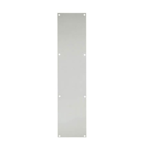 Satin Aluminium Steel Door Plates