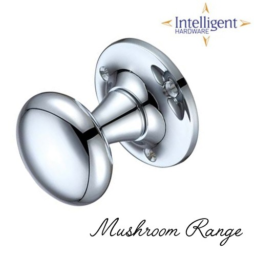 56mm Mushrooom Mortice Knob