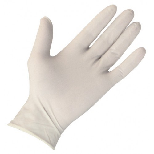 Wrist Length Latex Disposable Gloves
