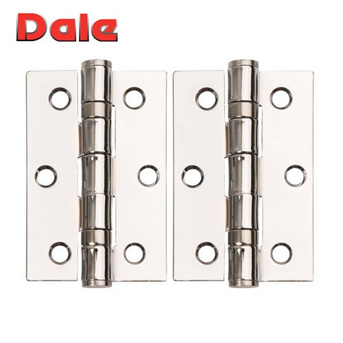 Polished Chrome Hinges Ball Bearing 75 x 50 DH000862