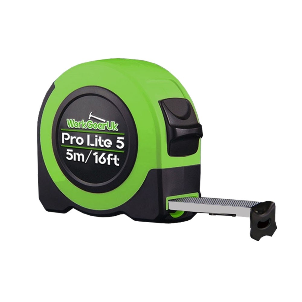 WORKGEARUK PRO LITE 5 Measuring Tape /16FT-25MM BLADE WG-TM01 Class 2