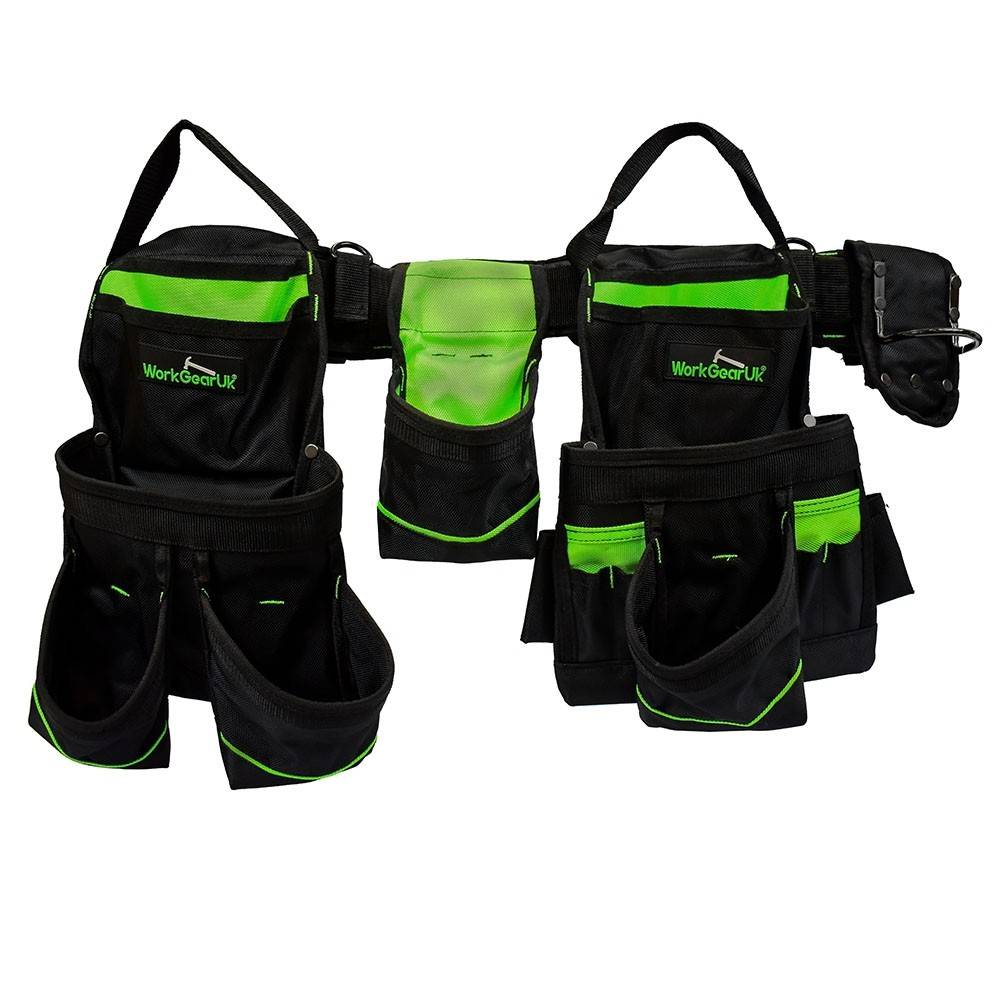 WorkGearUk Heavy Duty Nylon tool belt Set  WG-PX01