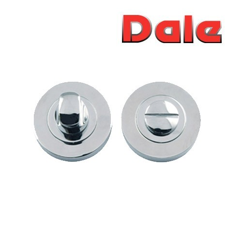 Polished Chrome Bathroom Turn & Release Set Dale Hardware DH003682