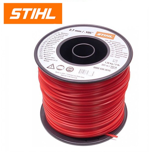 Stihl 2.7mm Square Red Mowing Line