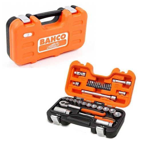 Bahco BAHS330 Socket Set 33 Piece 1/4in and 3/8in Drive