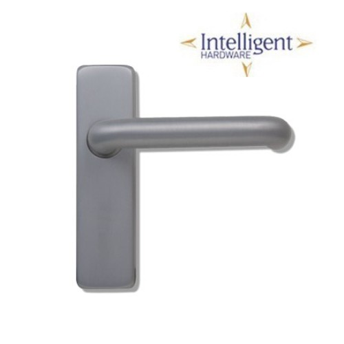 Sheringham Lever on Concealed Plate - Latch Intelligent SHE.04.SAA