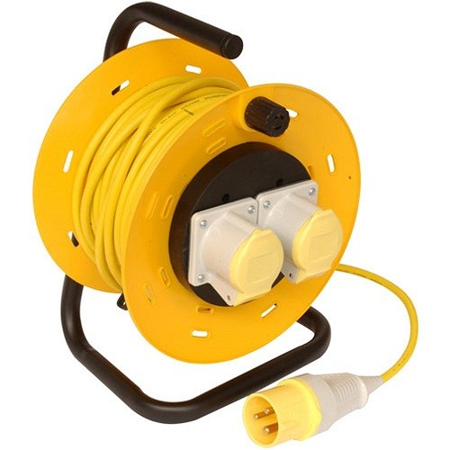 Defender E86505 Extension Reel 16amp 110v 50m