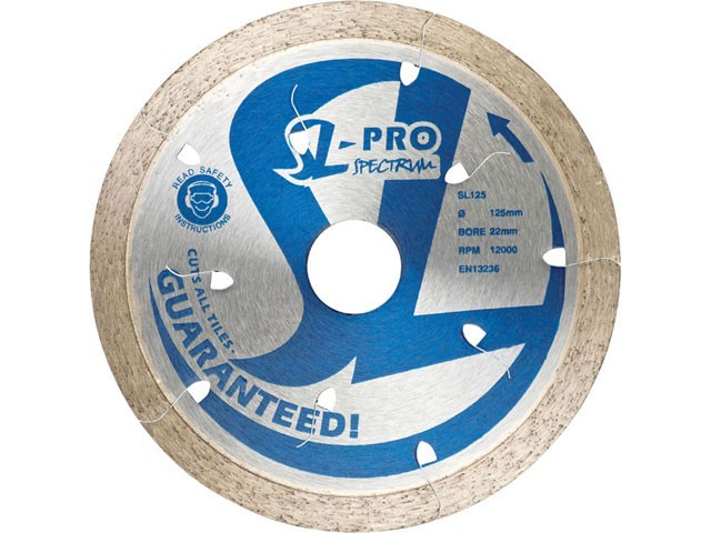 "SPECTRUM OX SL-PRO 115mm x 22mm 4 1/2"" ULTIMATE – CUTS ALL TILES – GUARANTEED!"