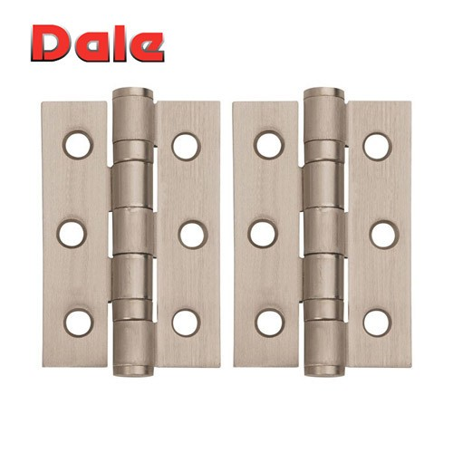 Satin Nickel Hinges Ball Bearing 75mm x 50mm DH000864