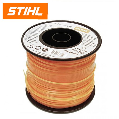 Stihl 2.4mm Square Orange Mowing Line