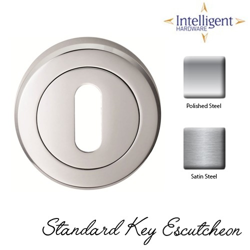 Standard Key Escutcheon Stainless Steel