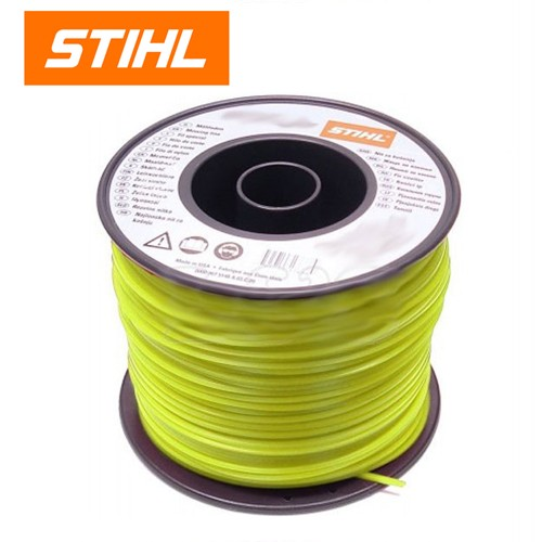 Stihl 3.0mm Square Yellow Mowing Line