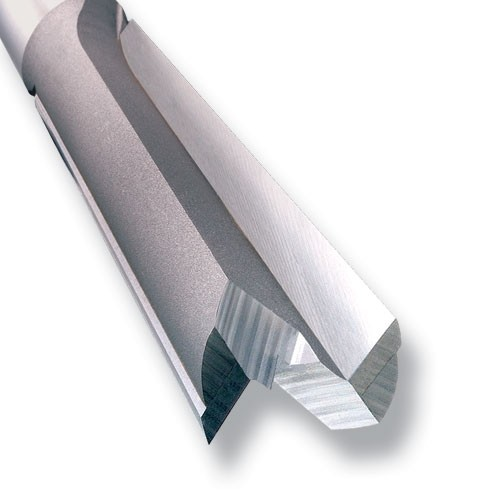 """3/83DX1/2TC Two Flute Cutter - 1/2"""" Shank"""