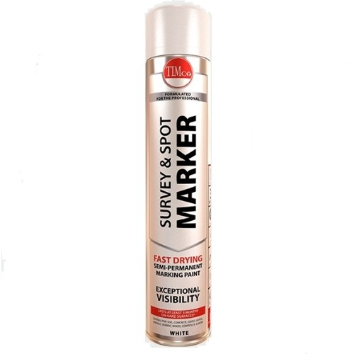 Survey and Spot Marker White 750ml (237369)