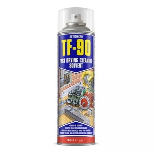 TF-90 Fast Dry Cleaning Solvent and Degreaser