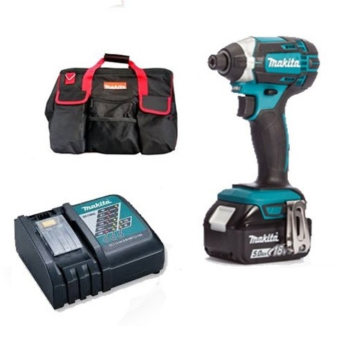 Makita DTD152TJ  With 1 x 5.0Ah Battery BL1850