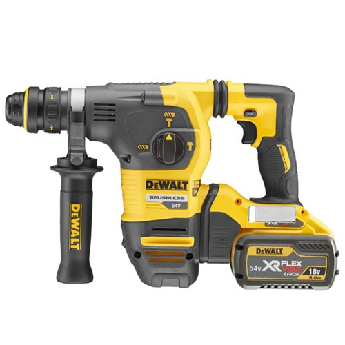 DeWalt DCH334X2-GB 2x9.0Ah Li-Ion 54V Flexvolt  SDS Plus Hammer Drill Set