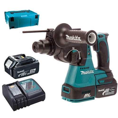 Makita DHR242RMJ 18v Brushless SDS Drill 2 x 4.0 ah Batteries ch