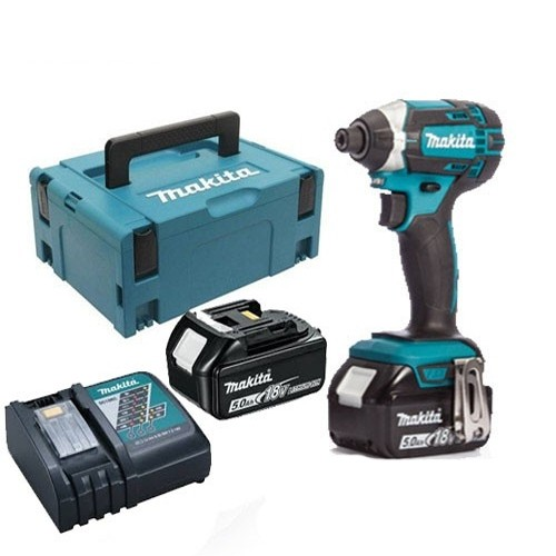 Makita DTD152TJ  With 2 x 5.0Ah Battery BL1850