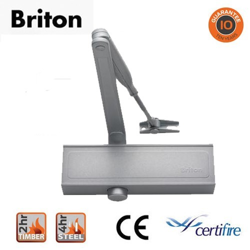 Door Closer Silver With Matching Arm